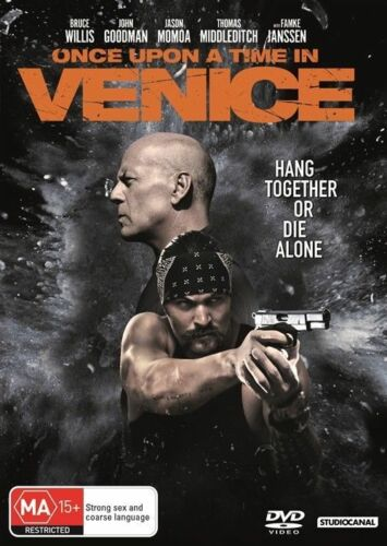 1 of 1 - ONCE UPON A TIME IN VENICE DVD, NEW & SEALED, 2017 RELEASE, REGION 4, FREE POST