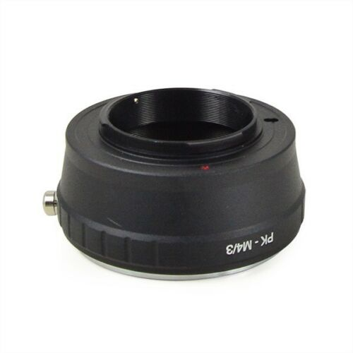 PK-M4//3 Pentax K-mount lens to Micro Four Thirds m4//3 camera adapter UK Seller