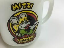 Showbiz Pizza Mitzi Mozzarella Vintage Coffee Mug Rockafire Explosion 80s