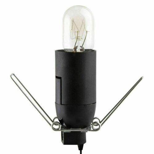 Plug /& Bulb Himalayan Salt Lamp Metal Basket With Salt Chunks Healing Ionizing