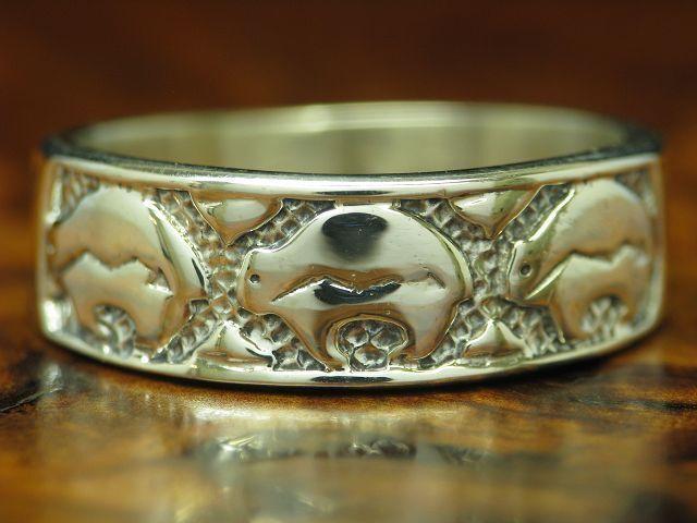 925 STERLING silver RING   ECHTsilver   7,2g   RG 62
