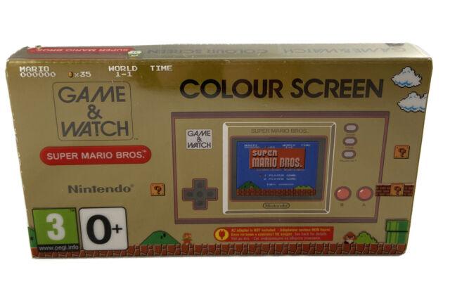 Nintendo Game & Watch: Super Mario Bros. Color Screen super mario Brothers Neu