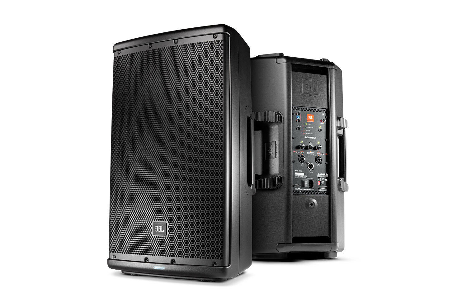 JBL EON 612 1000W 12  two-way self-powerot speaker