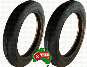 Details about HTS0082 Pair Tractor Front Wheel Tyre 400 x 19 Massey  Ferguson TEA20 TE20 TEF20