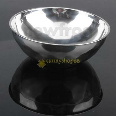 11cm Anti-Rust Stainless Steel Serving Dish Smooth Rolled Edge Safe Kids Bowl
