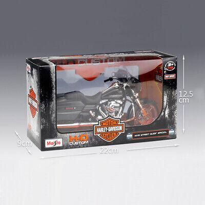 Maisto 1:12 Alloy Metal Model Harley-Davidson Street Glide Special Motorcycle