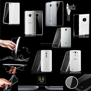 Slim-Thin-Transparent-Crystal-Clear-Soft-TPU-Case-Skin-Cover-For-Various-Phones