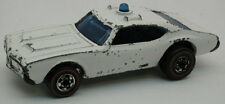 Redline Hotwheels White Blue Light 1974 Police Cruiser oc10038