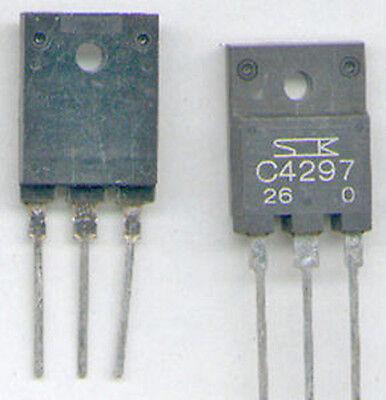 2SC4297 TRANSISTOR SANKEN  NPN  500V //400V  75W  NEU C4297