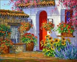 Southwest-Tile-Backsplash-Mikki-Senkarik-Floral-Art-Ceramic-Mural-MSA241