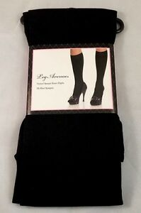 Opaque Knee Highs LEG AVENUE 5572 One Size   BNIP Black