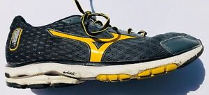 the latest feac4 06155 Details about Mens Mizuno Wave Rider 18 Running Athletic Sneakers Shoes 9.5