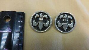 Details About Vintage Boy Scout Emblem Clip On Earrings