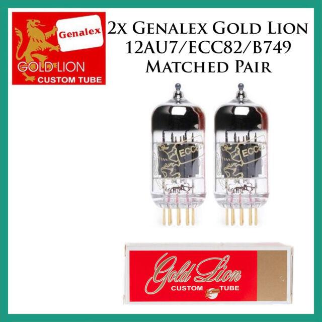 Genalex Gold Lion KT88 Duet//Pair