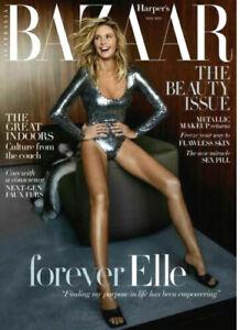 Harper-039-s-Bazaar-Australia-Forever-Elle-Beauty-Great-Indoor-May-2020-Magazine-NEW