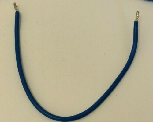 10MM BLUE TAILS 300MM LONG SINGLES TRI-RATED FLEXIBLE CABLE FOR CONSUMER UNITS
