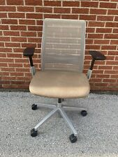 Steelcase Think Chair Loaded Brown Fabric Great Condition