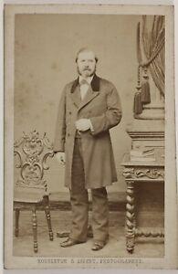 P-de-Branville-Bousseton-amp-Appert-Paris-France-Photo-Cdv-Vintage-Albumine-1862