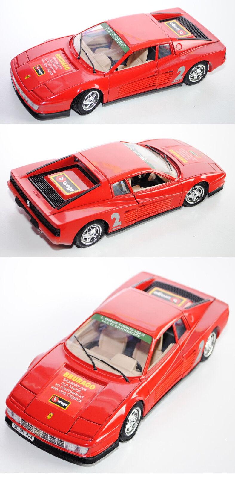 Bburago 3019 Ferrari Testarossa (1984), 1 18, Sondermodell