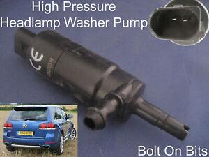 Scheinwerfer / Unterlegscheibe Spray Reinigung Pumpe VW Touareg 2003 Bis 2010
