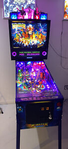 Monster Bash Remake Limited Edition Pinball Topper XL Display Free Shipping