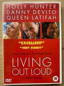 Living-Out-Loud-DVD-1998-Romantic-Comedy-with-Holly-Hunter-and-Danny-DeVito