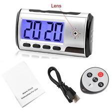 Top Mini HD DVR Hidden Camera Alarm Clock Motion Detection DV Video Recorder
