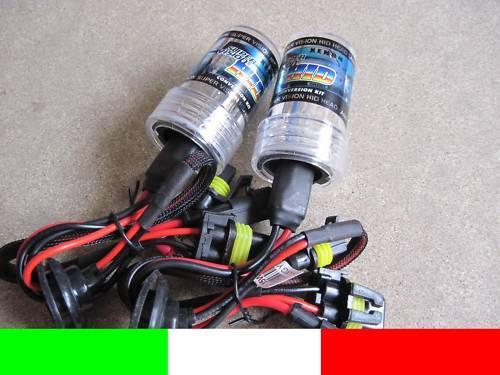 HB3 9005 COPPIA 2 LAMPADE XENO XENON BULBI RICAMBIO 6000k 55w G5B4