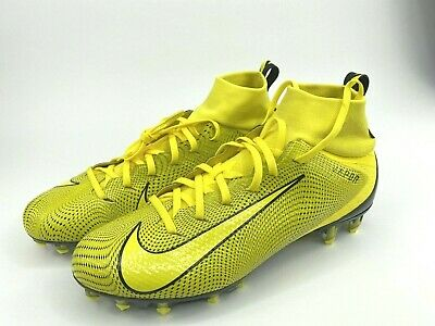 Nike Vapor Untouchable 3 Pro Football Cleats Yellow Black 917165 701 Men Sz 11 5 Ebay