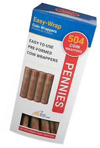FSW-504P 504 Penny Royal Sovereign Preformed Coin Wrappers