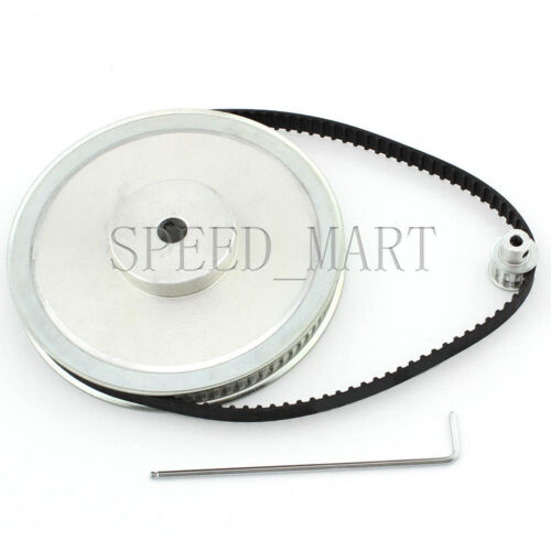 XL 80T 10T Timing Pulley Belt set kit Reduction Ratio 8:1 For Stepper Motor CNC