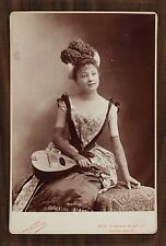 Jane Pierny, Actrice de théâtre, Cabinet Card, Photo Nadar Paris