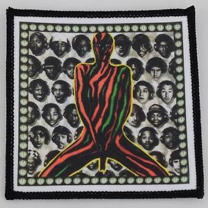 Tribe Called Quest Can I Kick it Sew On Badge in 3 sizes Square Printed Patch