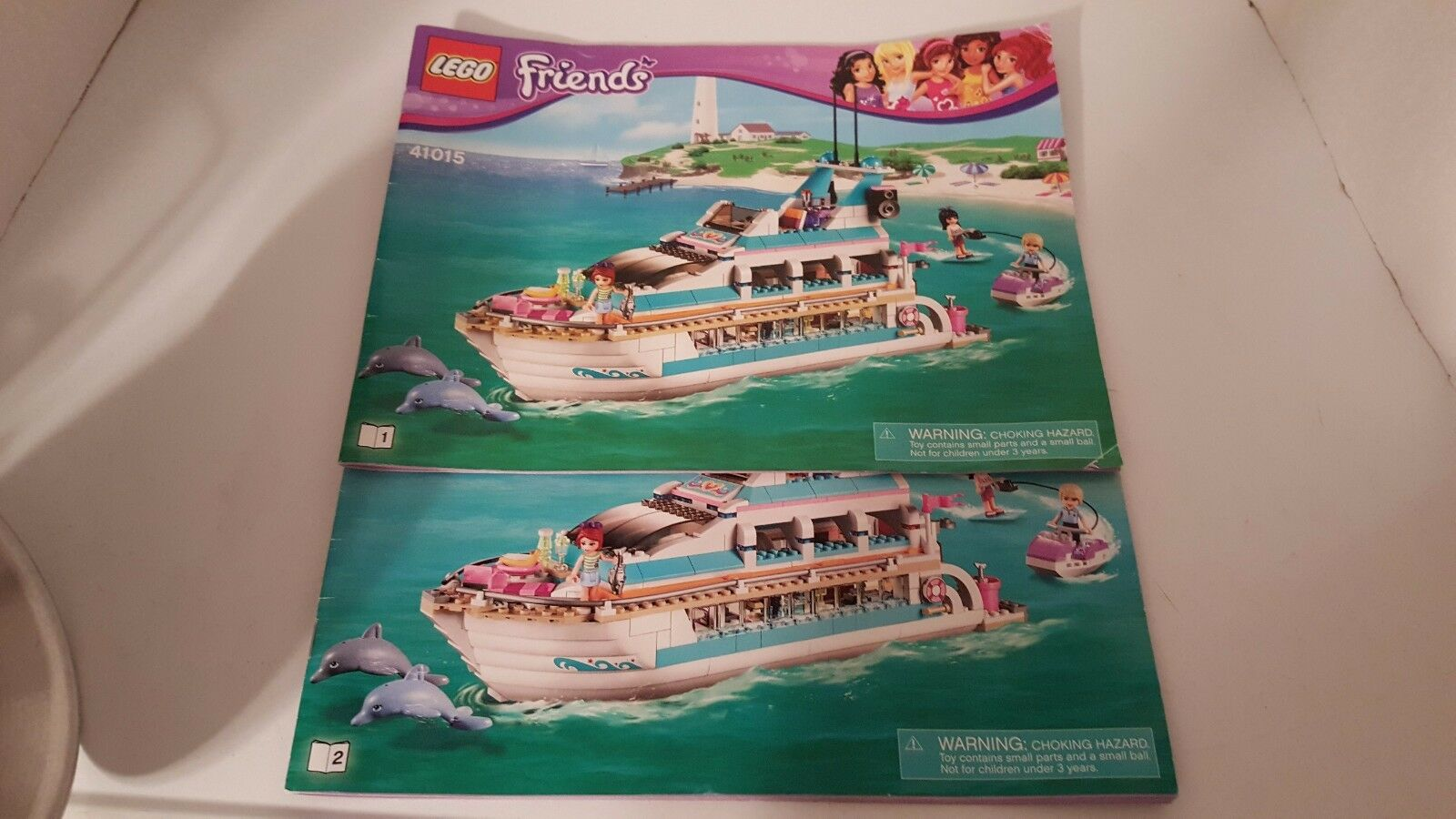 LEGO Friends Dolphin Cruiser (41015) - 100% COMPLETE!!