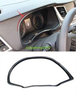 Carbon Fiber Interior front dashboard cover trim For Hyundai