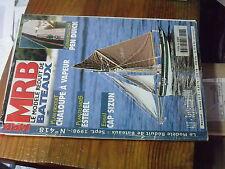 8µ? Revue MRB n°418 Pen Duick Chaloupe vapeur L'Esterel cargo roulier Cap Sizun