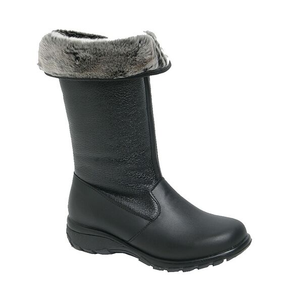TOE WARMERS of CANADA WOMEN'S SHELTER WATERPROOF LEATHER, MADE IN CANADA