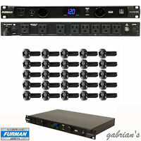 Furman Pl-plus Dmc Power Conditioner + 25 Rack Screws U.s. Authorized Dealer
