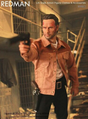 1//6 Scale The Walking Dead Rick Grimes REDMAN TOYS Fit DAMTOYS HOT TOYS Body