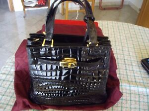 BORSA-IN-VERO-COCCODRILLO-100-MADE-IN-ITALY-NERO