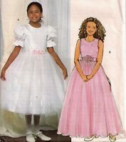 2005 Special Occassion Dress Pattern Choice 7-16 Butterick 4441