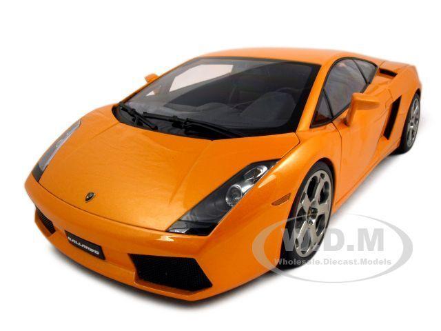 Lamborghini Gallardo Orange 1 12 Diecast Model Car By Autoart 12092