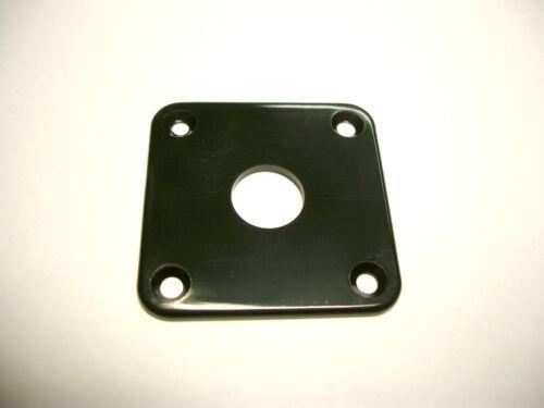 4-Loch Buchsenplatte göldo Jack-Plate schwarz