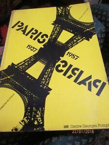 """PARIS PARIS : 1937-1957 - France - Commentaires du vendeur : """"TTES BON ETAT DE L OUVRAGE"""" - France"""