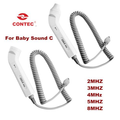 Waterproof//8MHZ Vascular ultrasound probe for Contec Baby Sound C fetal doppler