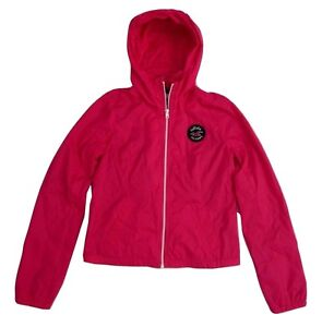 NWT Hollister Womens Size Small Windbreaker Nylon Jacket ...