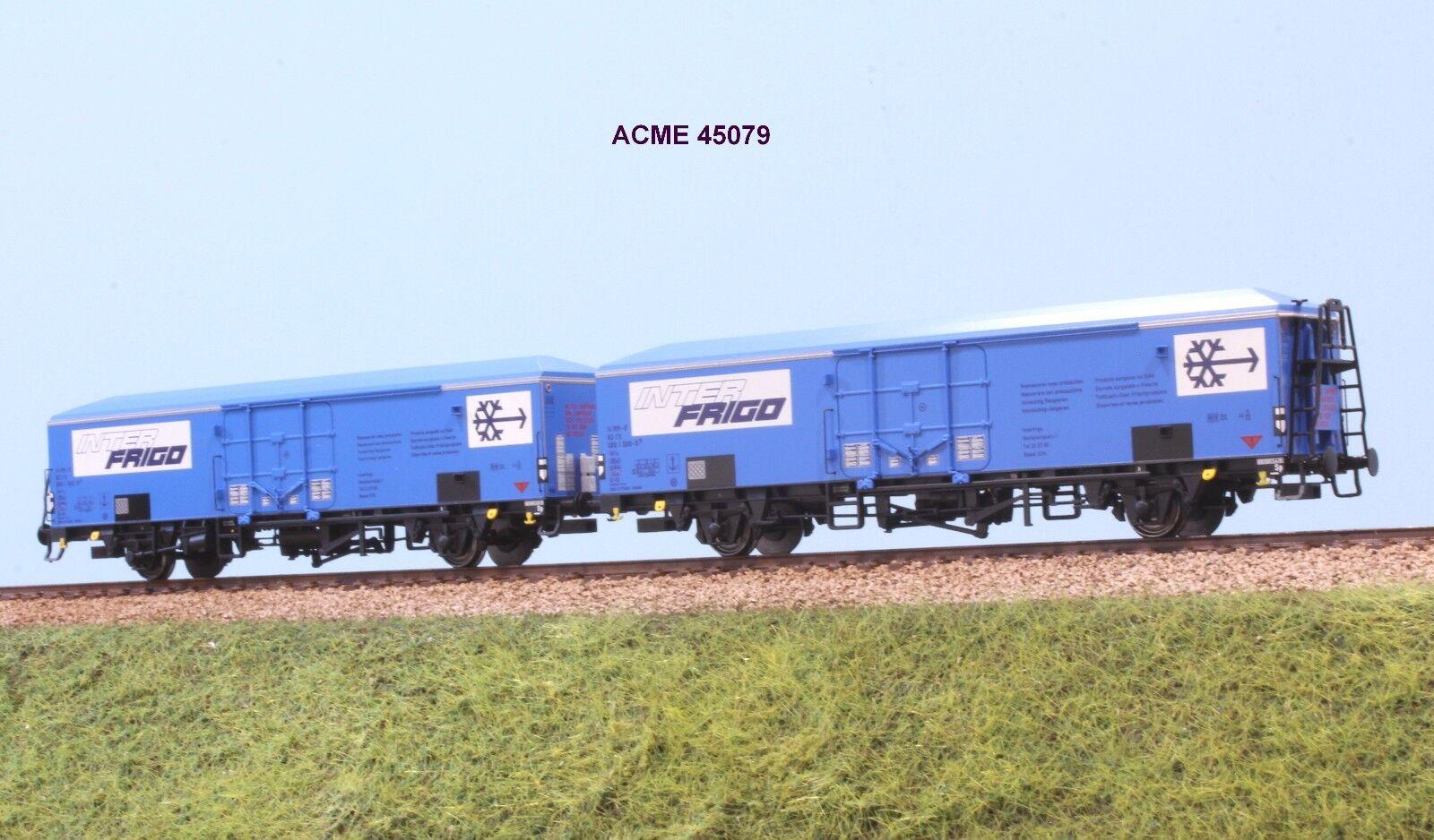 ACME  45079 FS coppia autori isotermici Ibbes INTERFRIGO a sagoma inglese