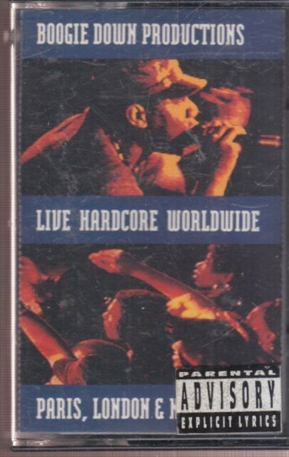 Live Hardcore Worldwide by Boogie Down Productions (Cassette, Mar-1991,  Jive (USA))