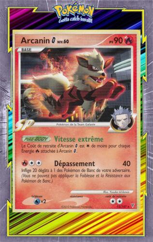 Carte Pokemon Neuve Française Arcanin G Platine:Vainqueurs suprêmes 15//147
