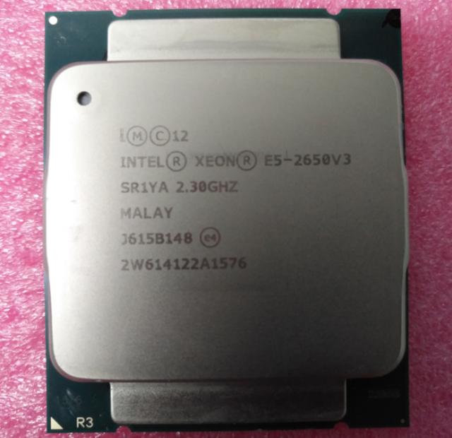 Intel Xeon E5-2650 V3 2.3GHz 10 Core 25MB 9.6GT/s SR1YA LGA2011-V3 CPU Processor